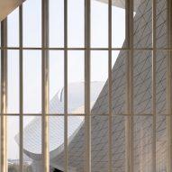 Inside the Suzhou Bay Cultural Center by Christian de Portzamparc