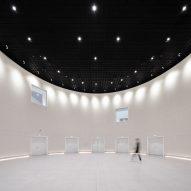 The interiors of the Suzhou Bay Cultural Center by Christian de Portzamparc