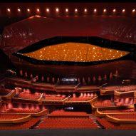 The theatre inside the Suzhou Bay Cultural Center by Christian de Portzamparc