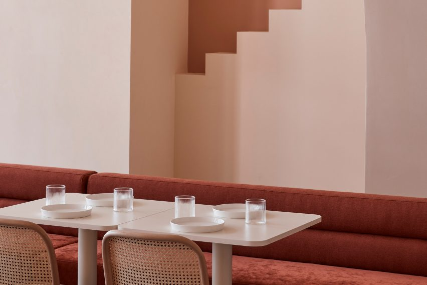 Dining room at The Budapest Cafe by Biasol