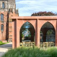 Feilden Fowles adds pointed arch extension to Carlisle Cathedral's fratry