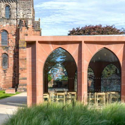 The extension of The Fratry at Carlisle Cathedral by Feilden Fowles