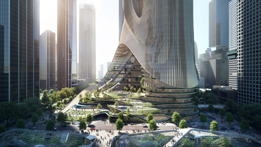 Tower C development by Zaha Hadid Architects