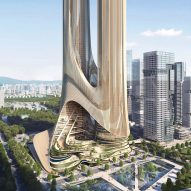 Supertall skyscrapers linked by planted terraces to be built in Shenzhen by Zaha Hadid Architects