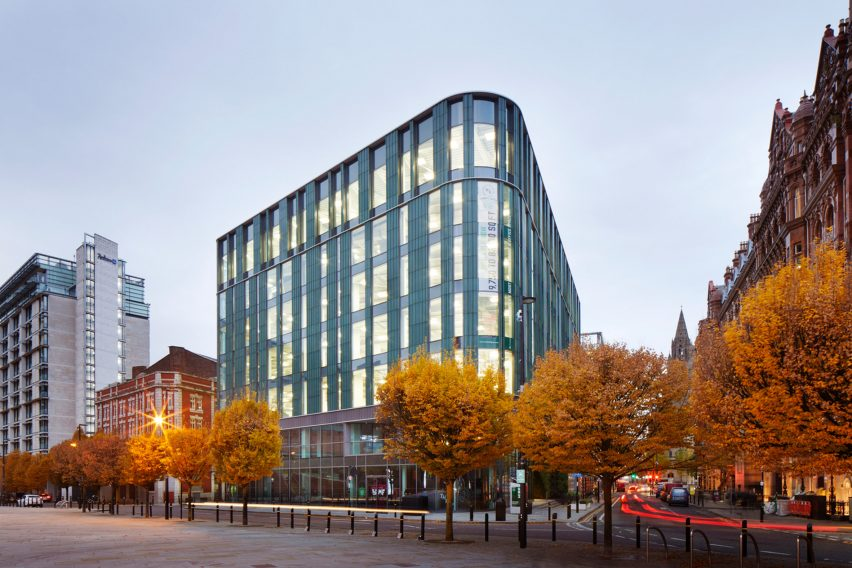 TP Bennett Manchester office building