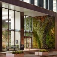 TP Bennett retrofits 1970s office building with Manchester's largest living wall
