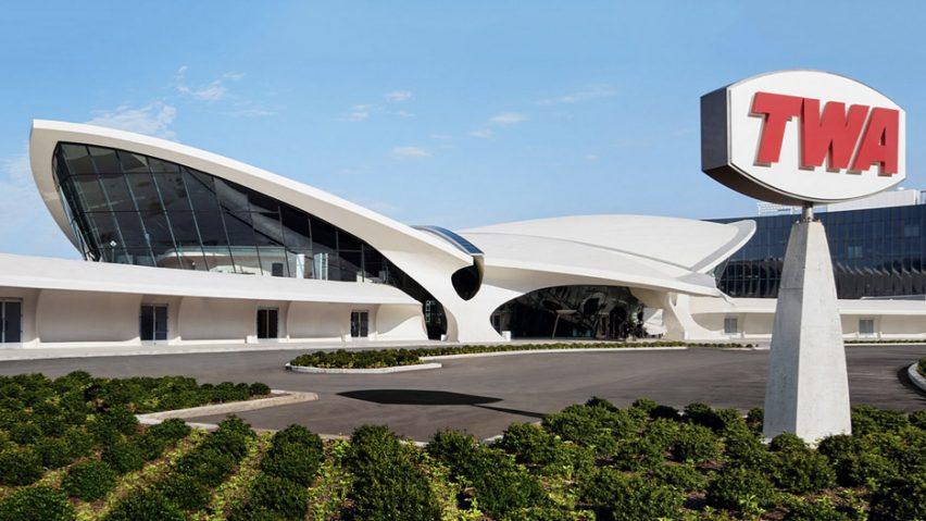 TWA Terminal en la ciudad de Nueva York, Nueva York, por Eero Saarinen