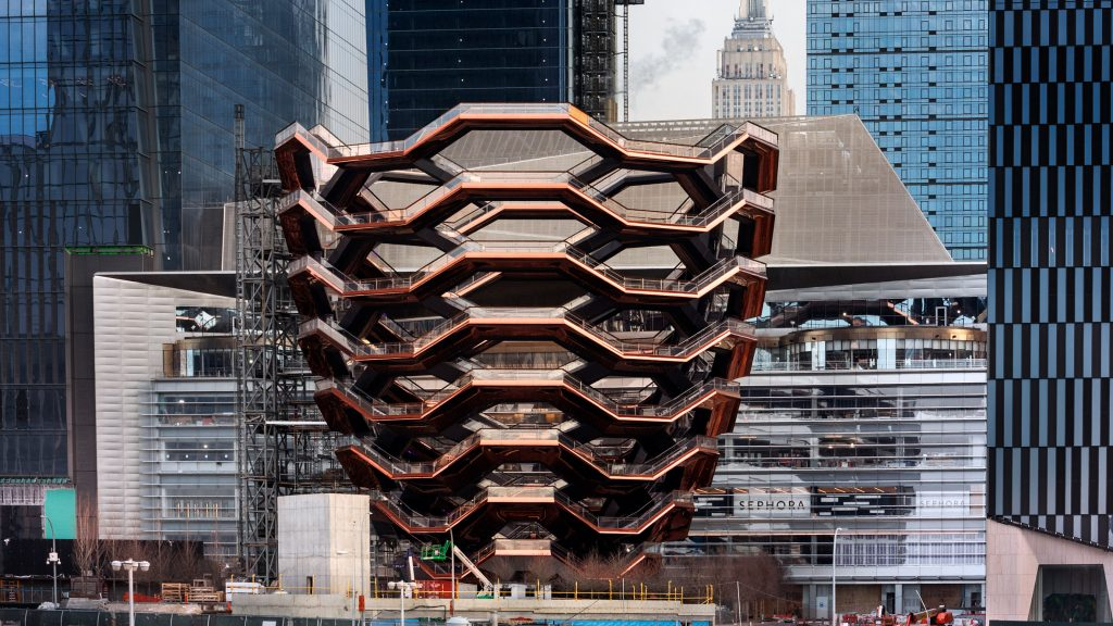 Vessel by Heatherwick Studio closes after third death by suicide