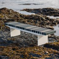 Coast bench by Allan Hagerup for Vestre