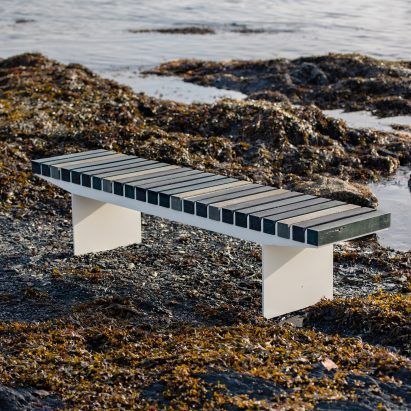 Coast bench by Vestre