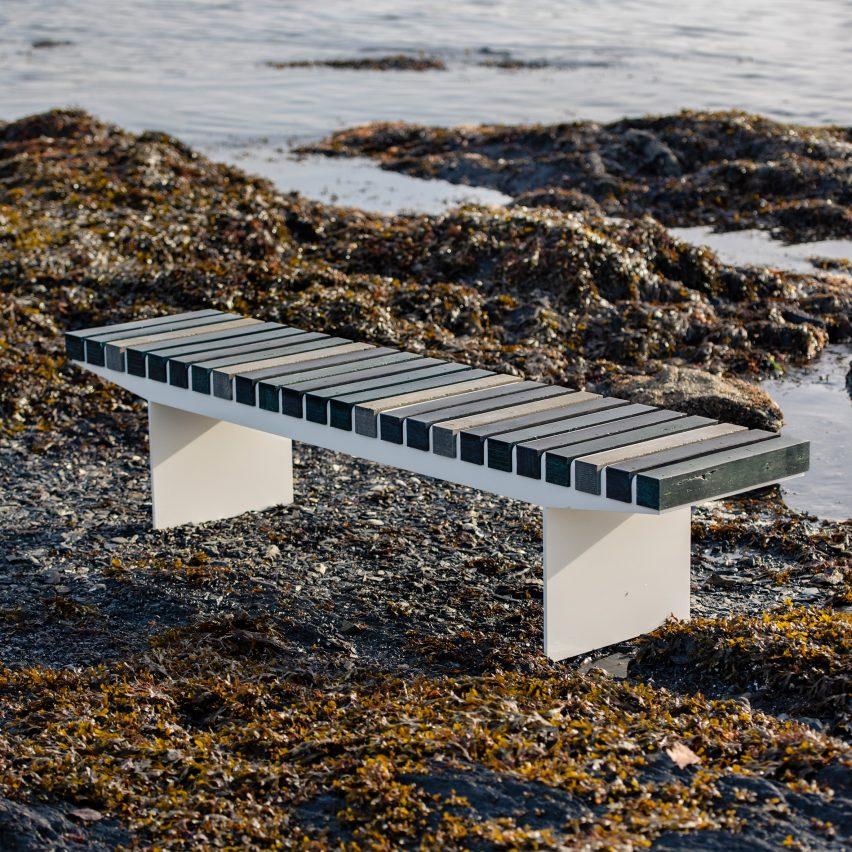 Coast bench by Vestre
