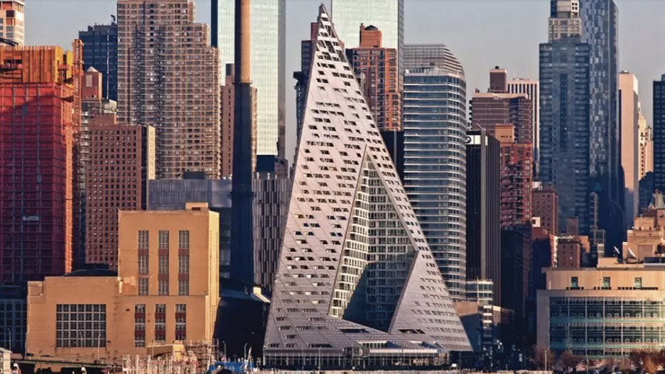 Via 57 in New York City, New York, by Bjarke Ingels (BIG)