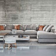 Lounge at Villa Nemes by Giordano Hadamik Architects