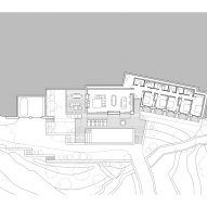 Floor plan for Villa Nemes by Giordano Hadamik Architects