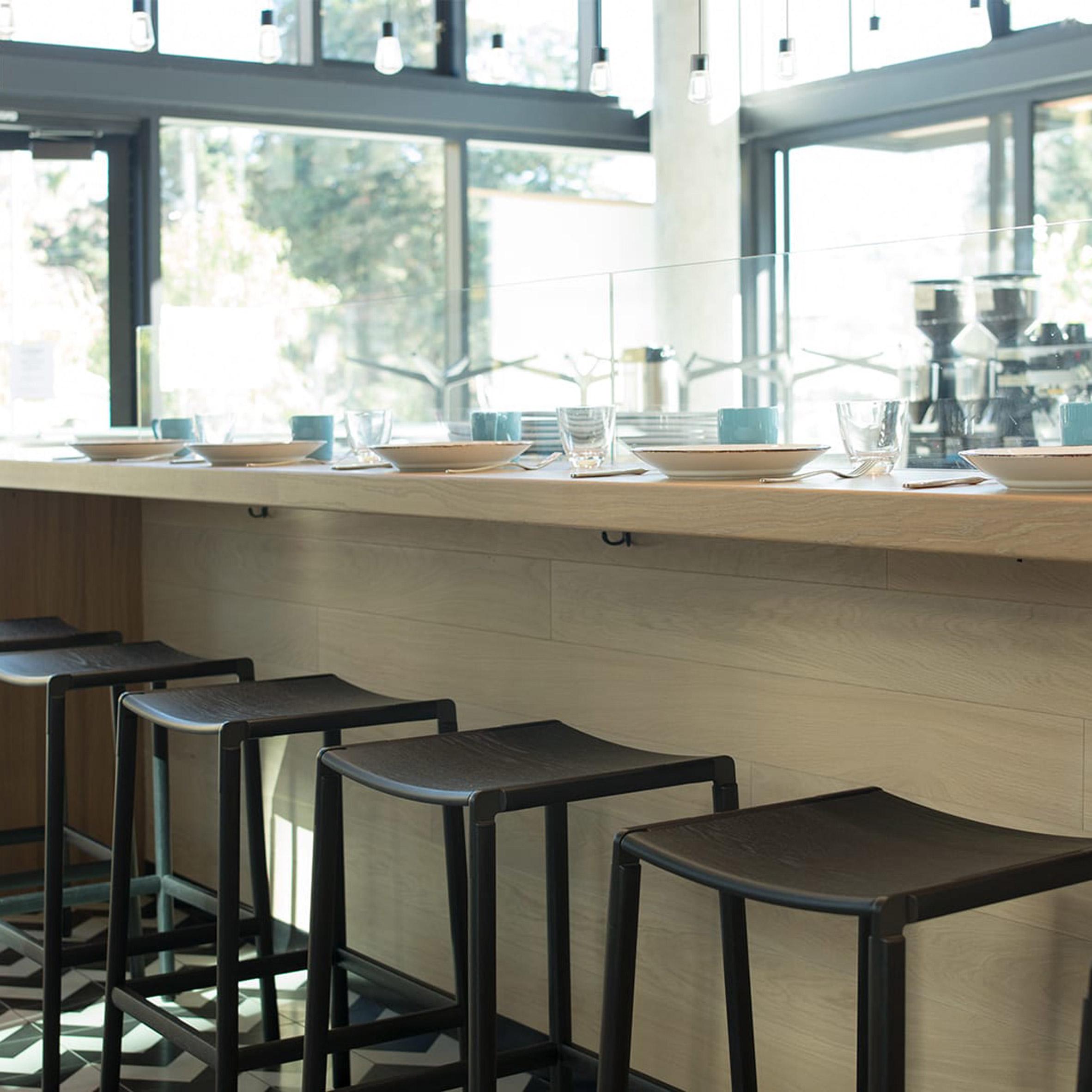 Bartlett Backless bar stool by Fryn
