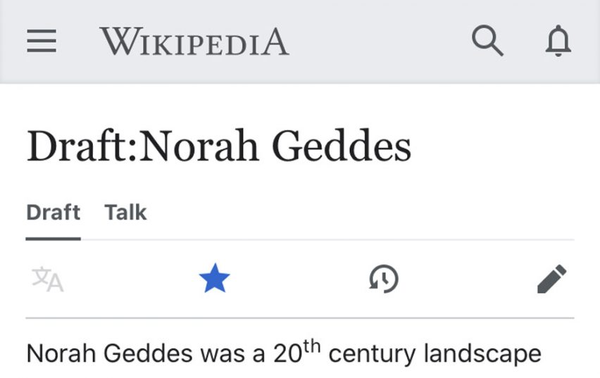 Wikipedia pages