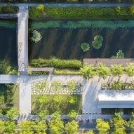 Former Shanghai airport transformed into Xuhui Runway Park