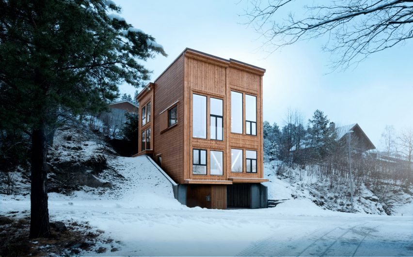 Zieglers Nest by Rever & Drage Architects in Farstadsanden, Norway