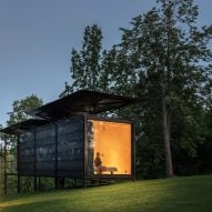 ŠA Atelier designs transportable 019 Cabin to be installed in any landscape setting