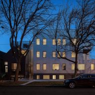 Vladimir Radutny Architects wraps Chicago housing block in corrugated steel
