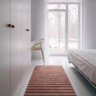 3D Stripe rug by Annike Laigo