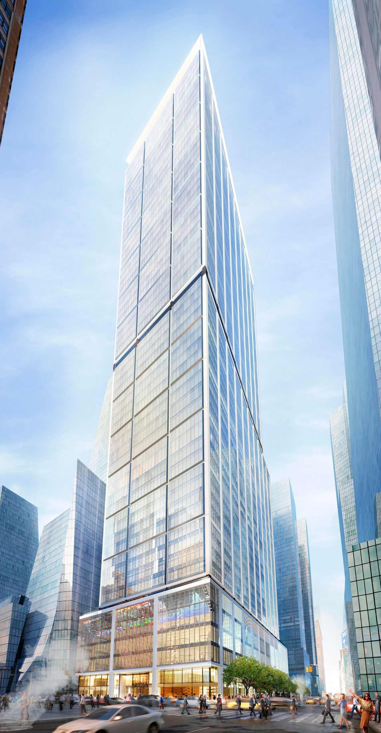 Renderings of supertall skyscraper by Foster + Partners