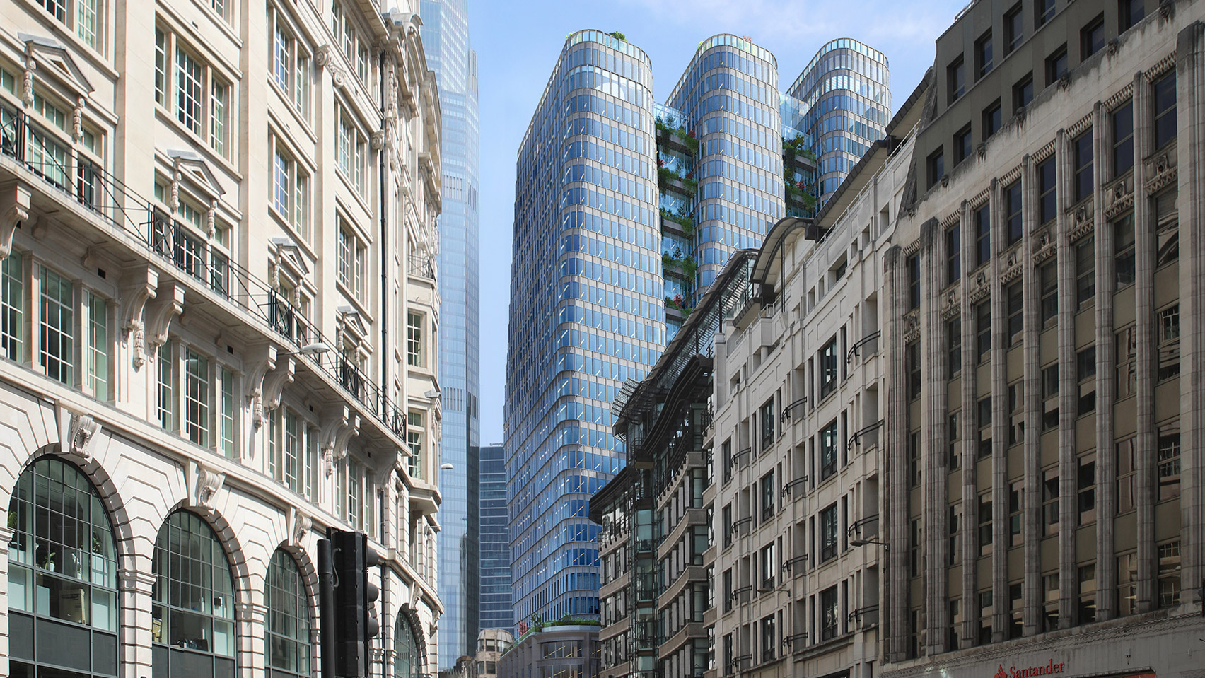 """From the creators of the Gherkin comes the Good, the Bad and the Ugly"" says commenter"