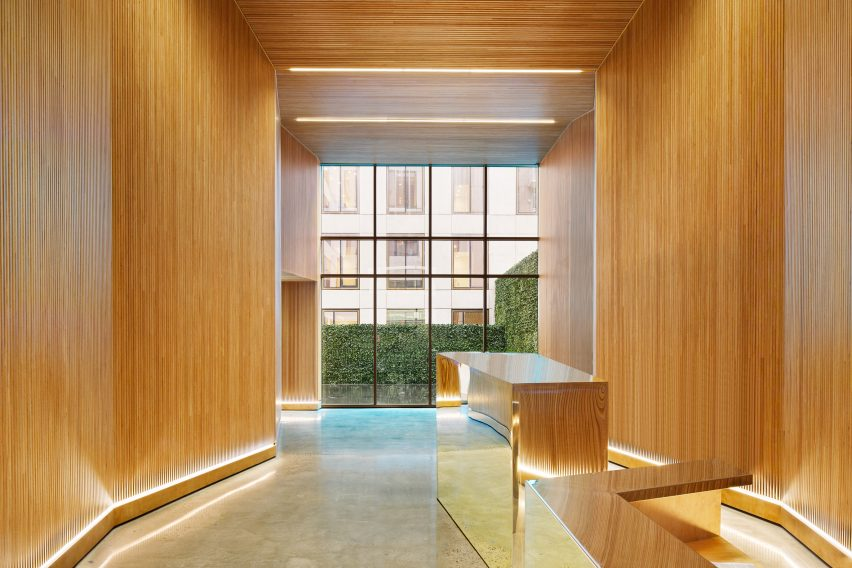 Lobby of 98 Front by ODA