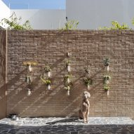 Courtyards lie at heart of Yavia House in Mexico by Intersticial Arquitectura