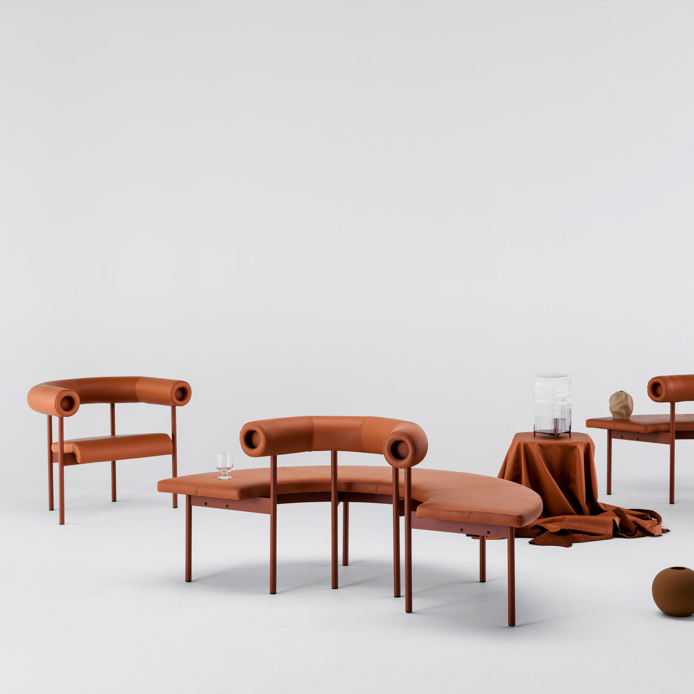 Font sofa system by Matti Klenell for Offecct