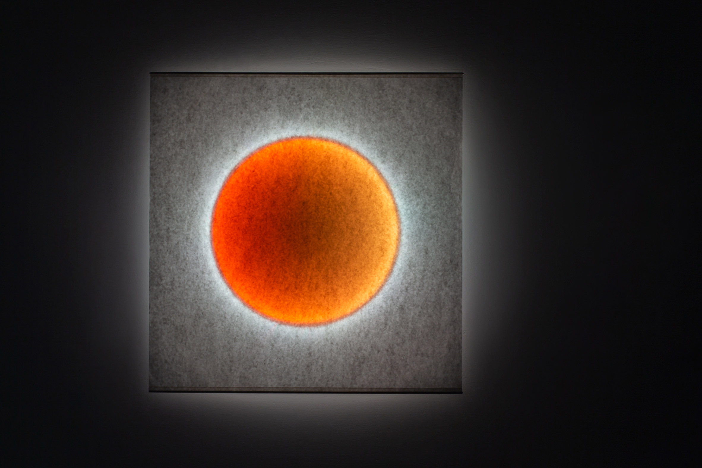 An orange colour sequence