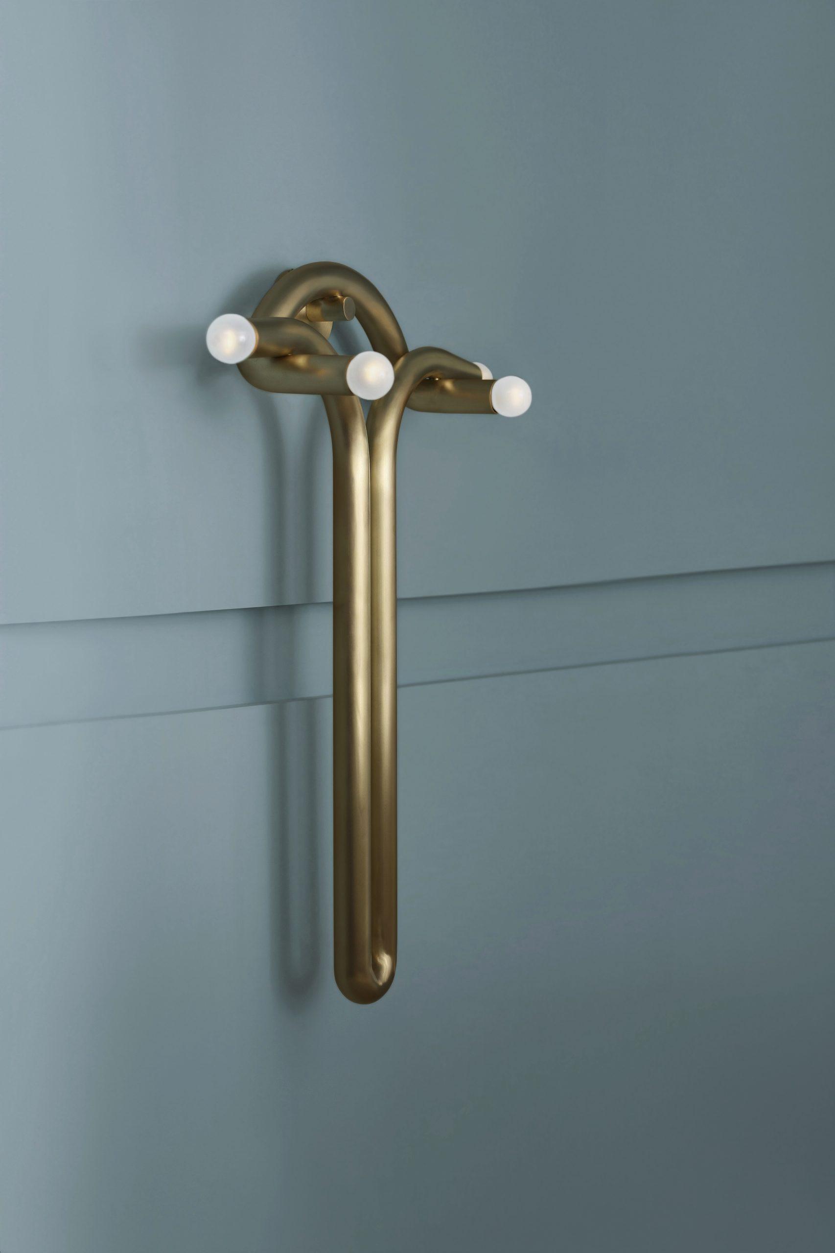 Paul Matter has designed a sconce light fixture
