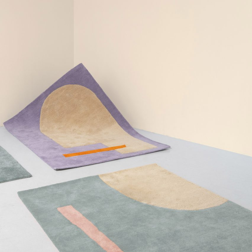 Petite rug collection by Layered