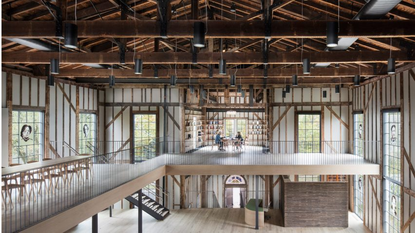 The Church in Sag Harbour by Skolnick Architecture is a church that has been converted into an arts centre