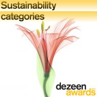 Dezeen Awards launches sustainability categories for architecture, interiors and design