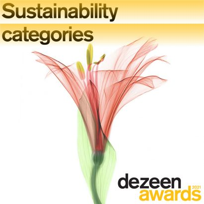 Dezeen Awards 2021 sustainability categories