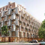 UNStudio designs Munich apartment block with reconfigurable interiors