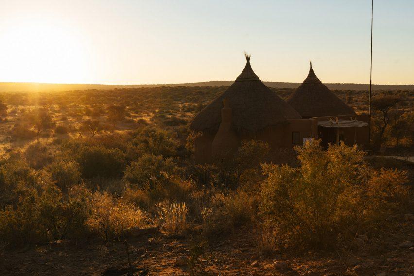 The Omaanga lodge in Namibia