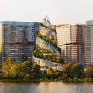 "Spiralling glass Amazon HQ2 building ""inspired by the poop emoji"" say Twitter users"