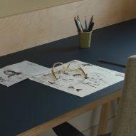 A workspace in a house in London by DeDraft