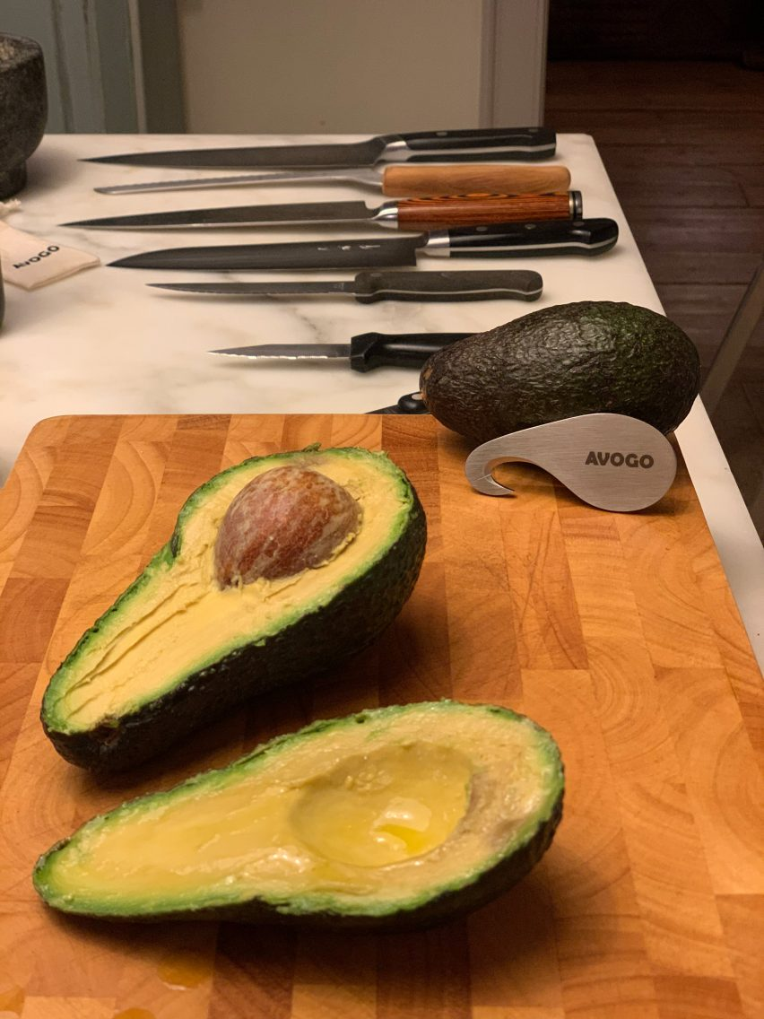 Pietro Pignatti's Avogo tool in a kitchen