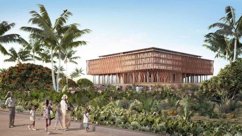 A tree-like building by Kéré Architecture