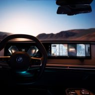 BMW iX features updated and advanced iDrive digital interface