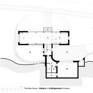 The Boathouse first floor plan