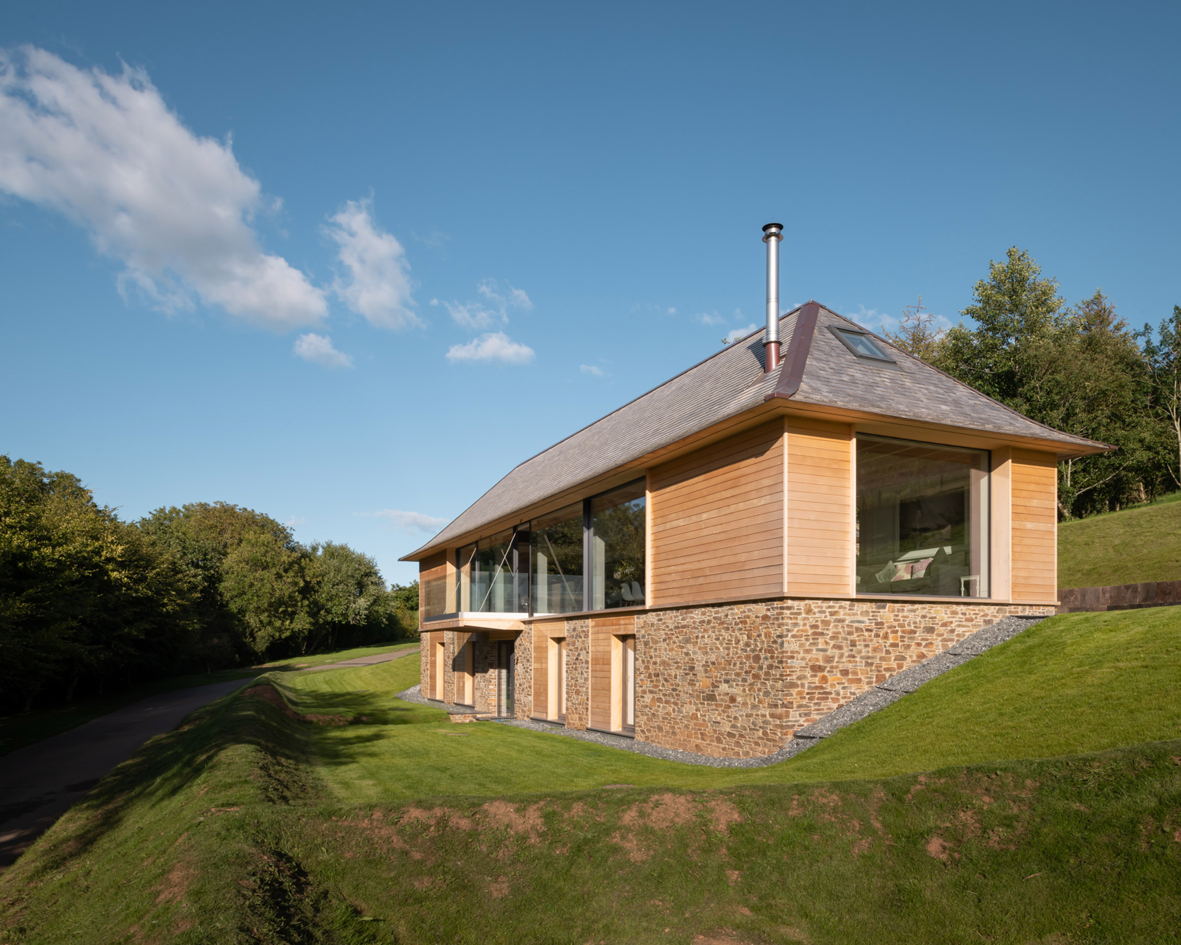 House in Area of Outstanding Natural Beauty overlooking Salcombe Estuary