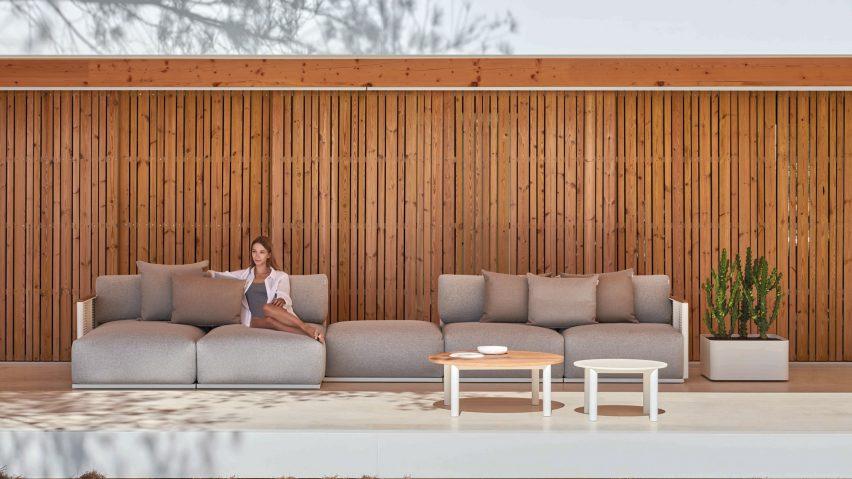 Bosc outdoor furniture by Gandia Blasco