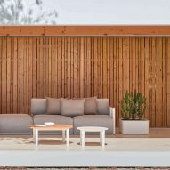 Bosc outdoor furniture by Made Studio for Gandia Blasco