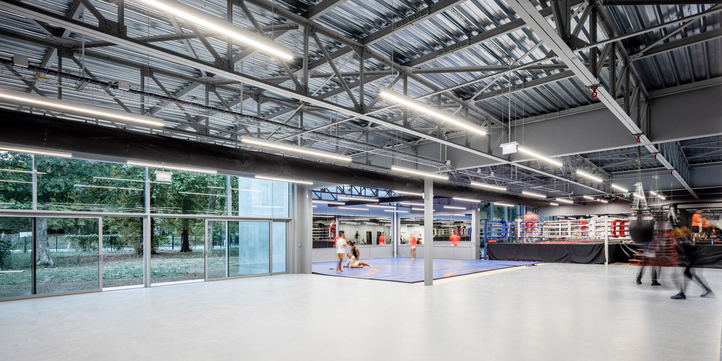 Gym in France