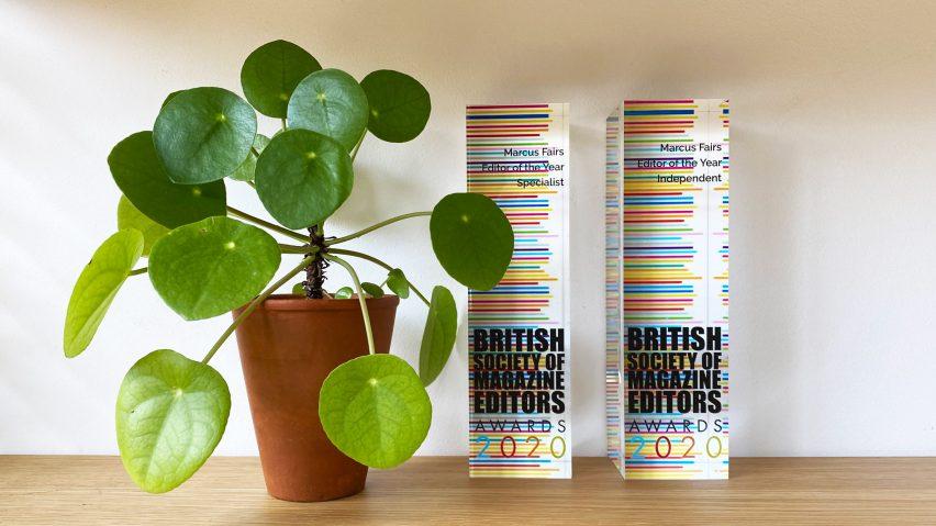 Dezeen wins two trophies at British Society of Magazine Editors awards