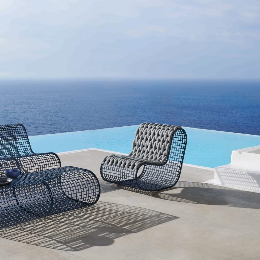 Buit outdoor seating by Gandia Blasco
